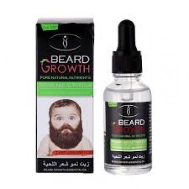 BEARD Growth Pure Natural Nutrients Oil
