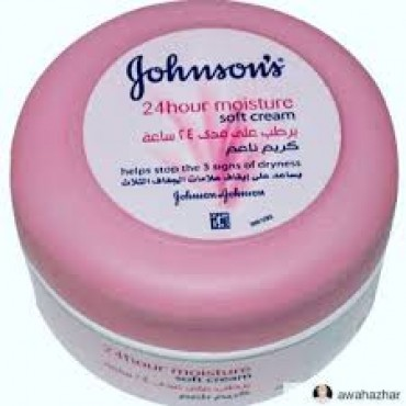 Johnson's 24 Hour Moisture Soft Cream